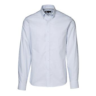 ID Mens Easy Iron Button Down Oxford Shirt