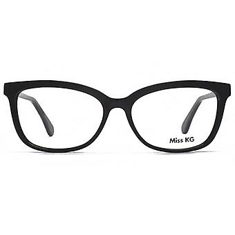 Miss KG Nicola Cateye Glasses In Black