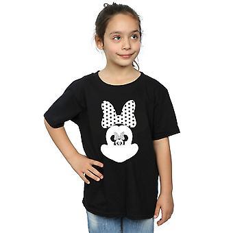 Disney Mädchen Minnie Mouse Spiegel Illusion T-Shirt