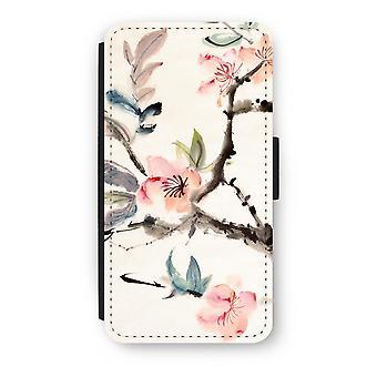 iPod Touch 6 Flip Case - Japenese kwiaty