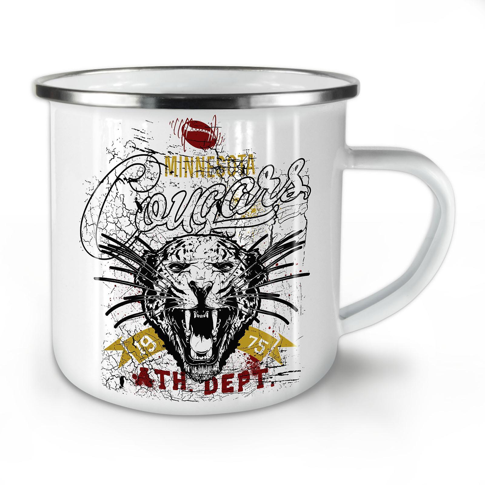 Whitetea Émail Café Nouveau OzWellcoda Tiger Mug10 Couguars Head rtCxhdsQ