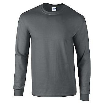 Gildan Mens Långärmad Ultra Soft Style T bomullsskjorta