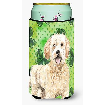 Shamrocks Goldendoodle Tall Boy bebida aislador Hugger