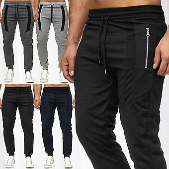 Men's sweatpants Jogg training Sports Fitness pants stretch waistband sweat Pant Heather