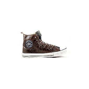 CONVERSE Limited Ed. ALL STAR HI PREMIUM BROWN/GREEN SNEAKERS