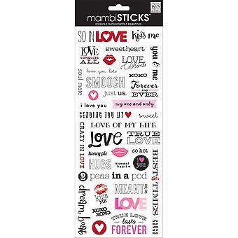 Specialty Stickers-Love
