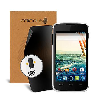 Celicious Privacy 2-Way Anti-Spy Filter Screen Protector Film Compatible with Micromax A092 Unite