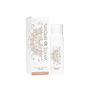 White to Brown White To Brown Self Tanning Mousse Medium