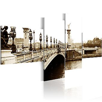 Canvas Print - Alexander II Bridge, Paris