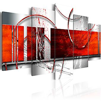 Canvas Print - Emphasis: red theme