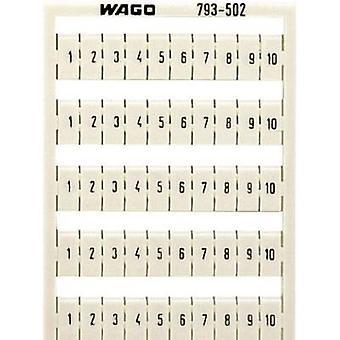 WAGO 793-502 etiketter Imprint: 1-10 1 dator
