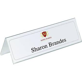 Durable 8053-19 Table Name Plates Pack of 25