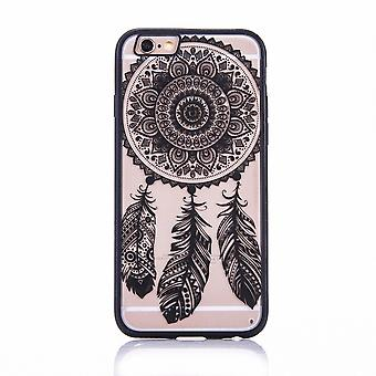 Mobile case mandala for Apple iPhone 6s plus design case cover design dream catcher cover bumper black