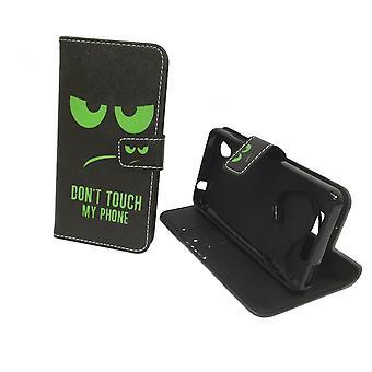 Mobiltelefon tilfælde pose for mobile ZTE blade A452 ikke røre min telefon grøn