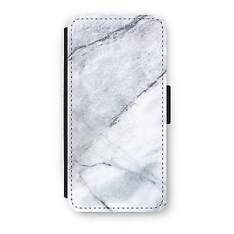 Samsung Galaxy S9 Plus Flip Case - Marble white