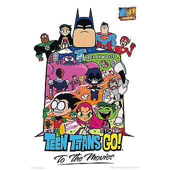 Teen Titans Movie - Collage Poster Print