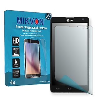 LG Optimus L9 II Screen Protector - Mikvon Armor Screen Protector (Retail Package with accessories)