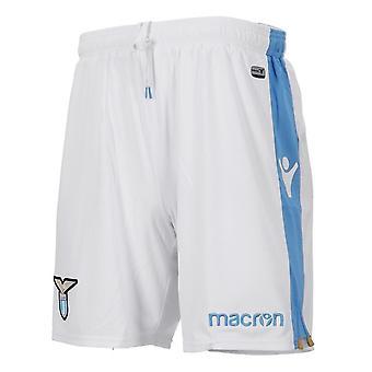 2018-2019 Lazio Макрон прочь шорты (белый) - дети