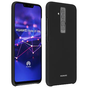 Official Huawei glossy hardcase, backcover for Huawei Mate 20 Lite - Black