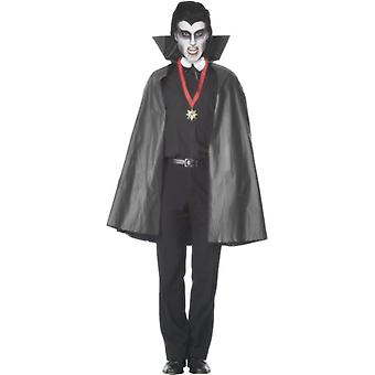 Smiffy PVC-Vampir Cape