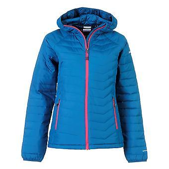 Columbia Womens Powder Jacket Down Coat Top