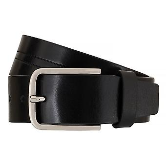 OTTO KERN belts men's belts leather belt black 7661