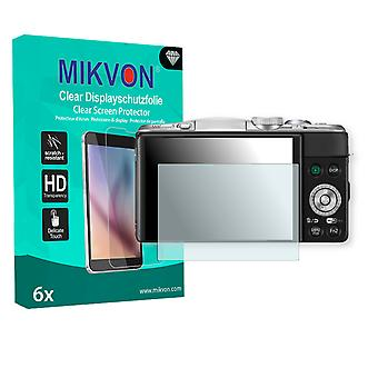 Panasonic Lumix DMC-GF6 Screen Protector - Mikvon Clear (Retail Package with accessories)