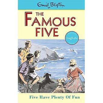 Five Have Plenty of Fun by Enid Blyton - Eileen Soper - 9780340681190