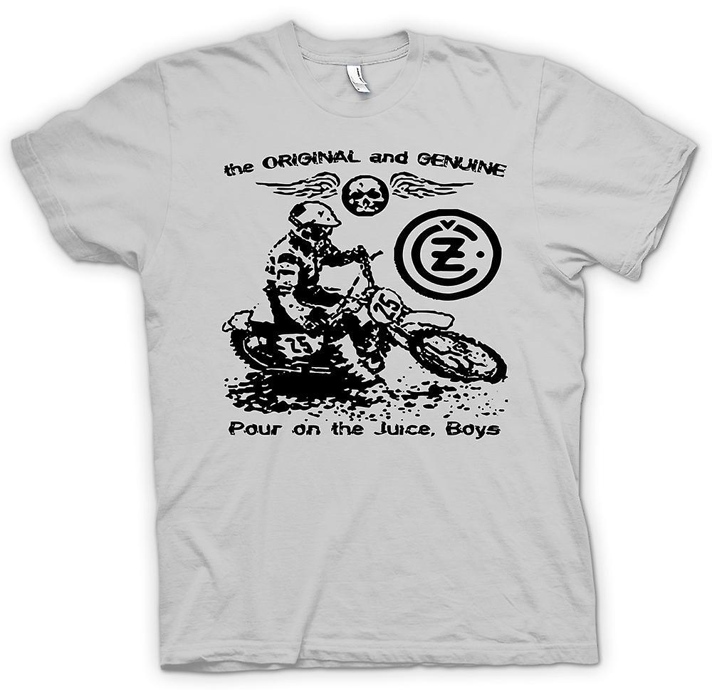 Mens t-shirt - succo di Jawa CZ - classico Moto