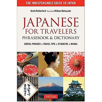 Japanese for Travelers Phrasebook & Dictionary - Useful Phrases + Trav