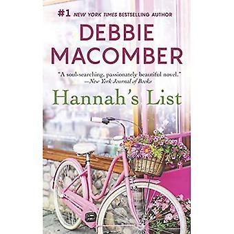 Hannahs lista (Blossom Street roman)