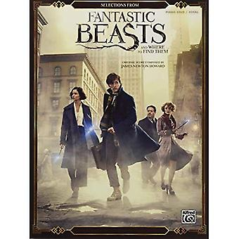 Selections from Fantastic Beasts and Where to Find Them: Piano Solos