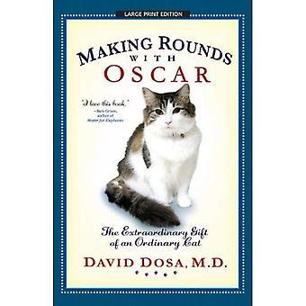 Gör rundor med Oscar: extraordinära gåvan av en vanlig katt