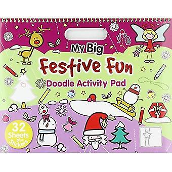Christmas - My Big Festive Fun: Activity & Doodle Pad (Landscape Doodle Pad)