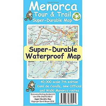 Menorca Tour & Trail Super-Durable Map (7th ed)