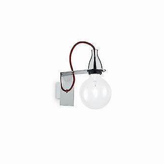 Ideal Lux - Minimal Chrome Wall Light IDL045207