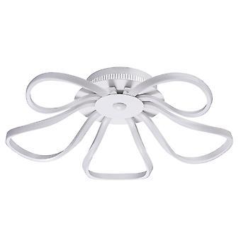 Glasberg - semi-encastré lumière cinq plafonnier de LED en blanc 496016905