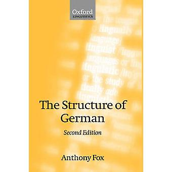La estructura del alemán por Fox y Anthony