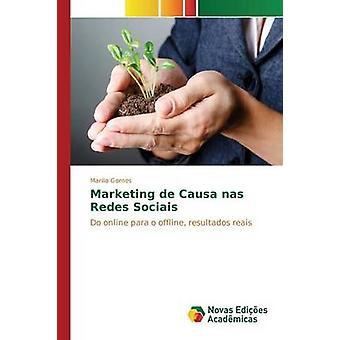 Commercialisation de Causa nas Redes Sociais par Gomes Marlia