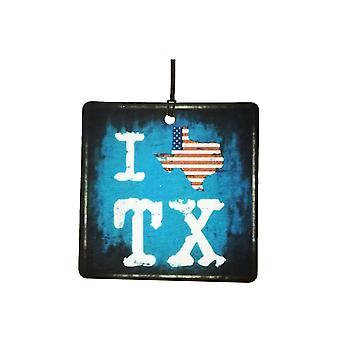 Jeg elsker Texas Lone Star State bil Air Freshener