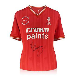 Kenny Dalglish Signed 1985-86 Liverpool Home Shirt