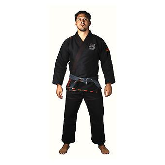 Jaco Mens Performance Jiu Jitsu Gi - Black - mma bjj grappling