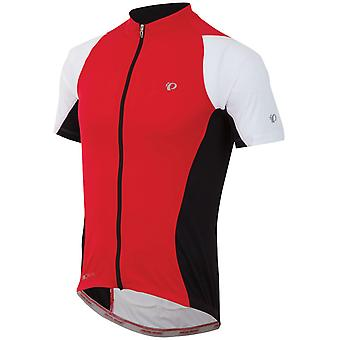 Pearl Izumi True Red-Black Elite Semi Form Short Sleeved Cycling Jersey