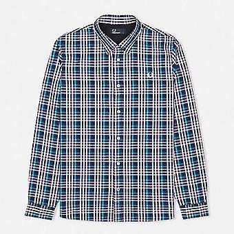 Fred Perry Men's Bold Gingham Long Sleeve Shirt M7247-458