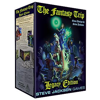 The Fantasy Trip Legacy Edition Box Role Play Limited Edition.