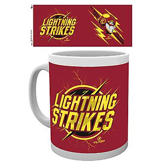 The Flash Lightning Strikes Boxed Drinking Mug