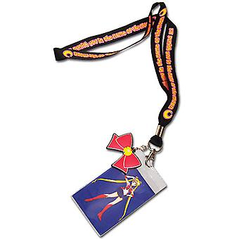 Lanyard - Sailor Moon - New Bow w/ Charm Toys Anime Licensed ge82518