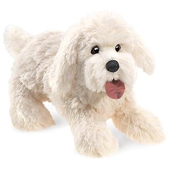Hand Puppet - Folkmanis - Chien Panting Puppet New Toys Soft Doll Plush 3053