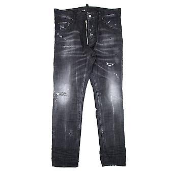 Dsquared2 cool Guy svart Jean zip svart