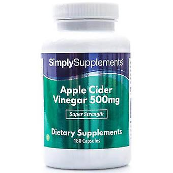 Apple-cider-vinegar-500mg - 180 Capsules